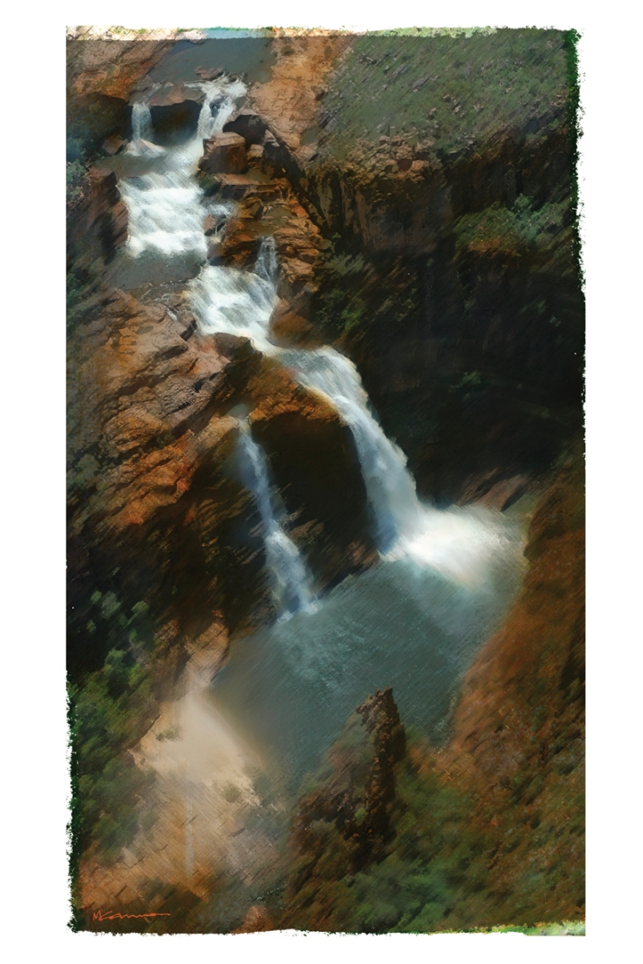 M Cannon Kakadu Falls