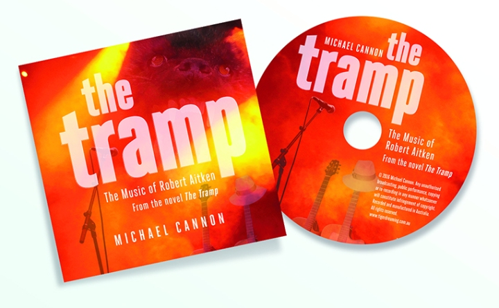 The Tramp CD Mock